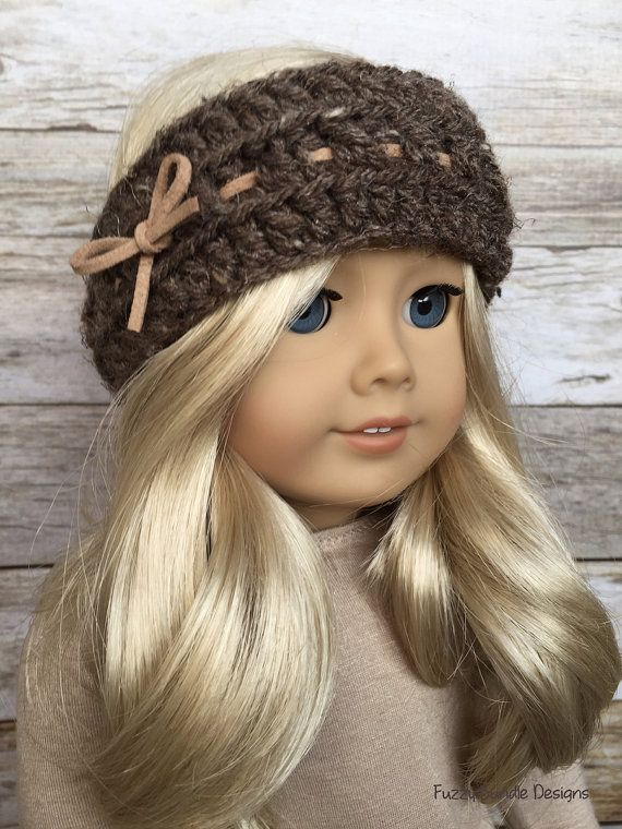 CROCHET PATTERN 18 inch Doll Cocoa Cowl and Head by FuzzyBundle