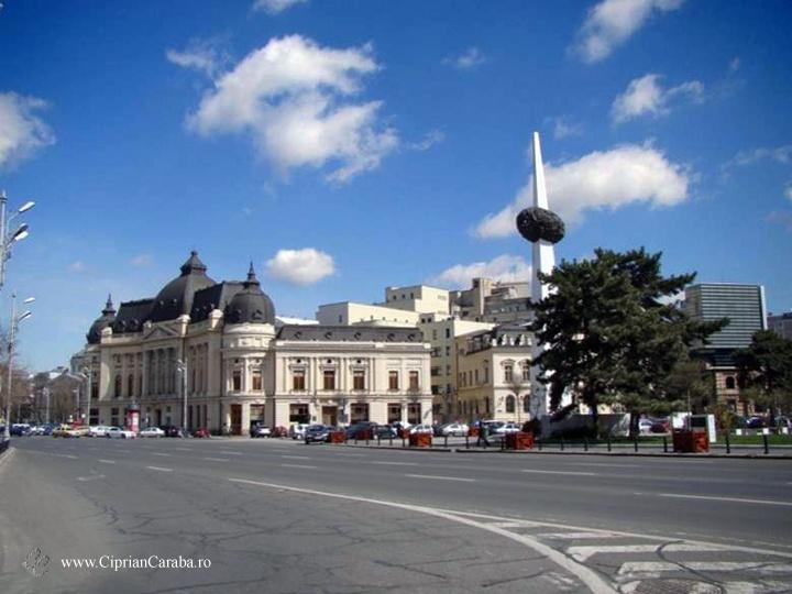 Piata Revolutiei din Bucuresti. Unul din locurile cele mai incarcate de istorie din intreaga tara!