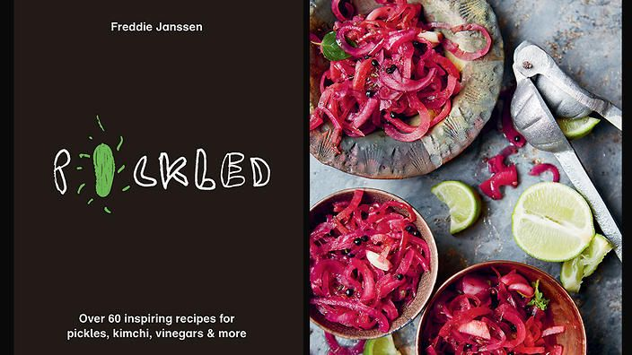 Freddie Janssen became so obsessed with pickling that she left her job in a creative agency to do it full-time. Now she's written a book to get your pickling juices flowing.