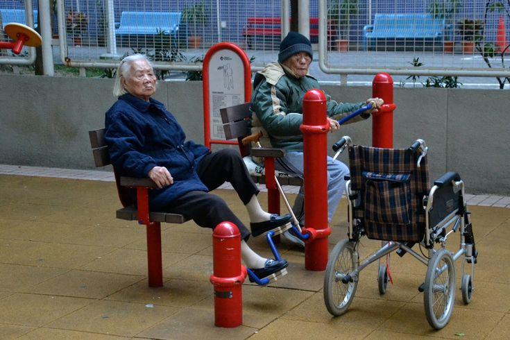 Гонконг — хорошиедворы в многоэтажных микрорайонах - Кац предлагает победить