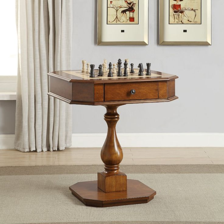 "28"" Bishop Chess Table"