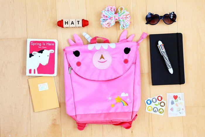 Pack Your Bags - Kids' Road Trip Essentials via Honesttonod.com