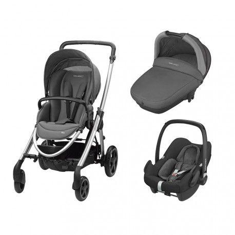 410a8bb56 Trio Elea con capazo Compact y Rock Bébé Confort Concrete Grey ...
