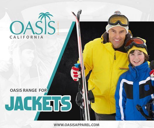 Jazz up your collection by checking out stunning jackets' catalog at Oasis Jackets