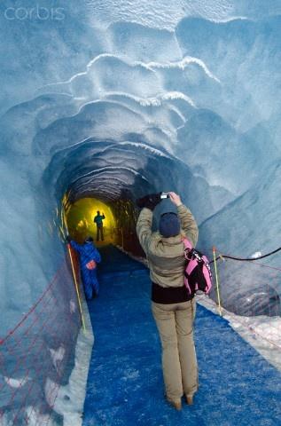 Chamonix ice cave --@Paula Carmichael :)