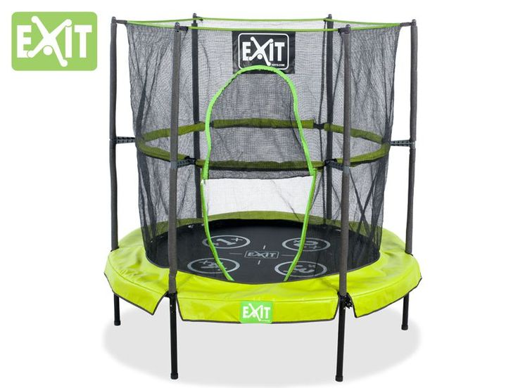 Mini bouncy Trampoline : EXIT Bounzy Mini Trampoline (1.40m)