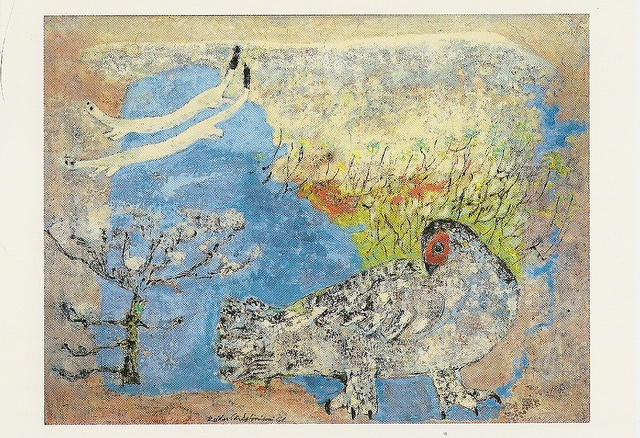 Reidar Särestöniemi  1961: willow grouse. Photo: Studio Tunturi-Lappi oy.