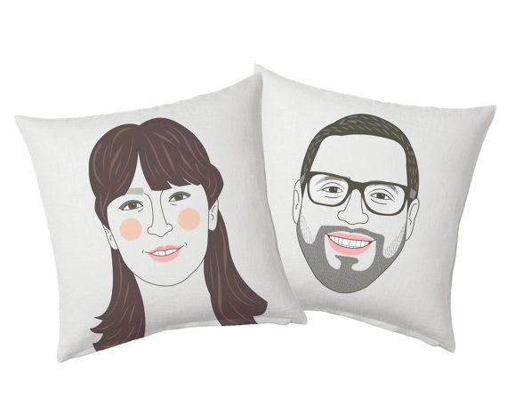Couple Cushion set. Printed custom pillow. Couple by lilidiprima