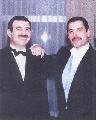 Jim Hutton and Freddie Mercury - So cute together!!