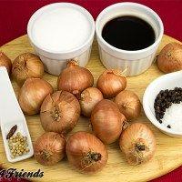 Balsamico Zwiebeln einlegen? Es lohnt sich! Es wird eine Köstlichkeit!