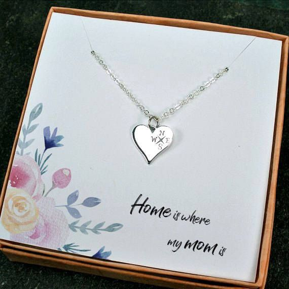 Mom Necklace Mom Gifts from Daughter From Son Birthday