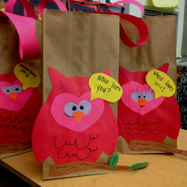 Valentine Bags For Kindergarten : Best images about preschool letter o on pinterest
