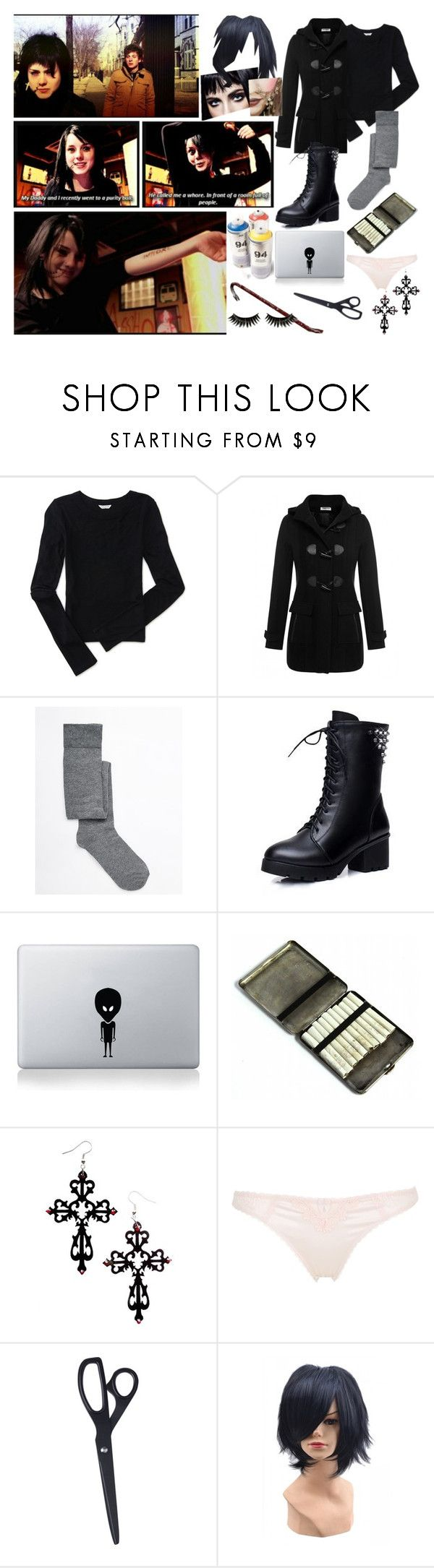 """""""Shameless: Karen Jackson (U.S)"""" by jeanettebeatrice ❤ liked on Polyvore featuring Aéropostale, ASOS, Hannah, STELLA McCARTNEY, HAY and Boohoo"""