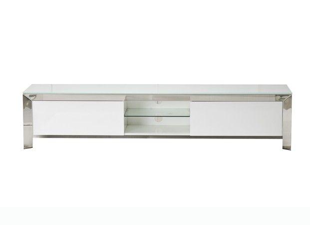 meuble tv design blanc texas meuble tv