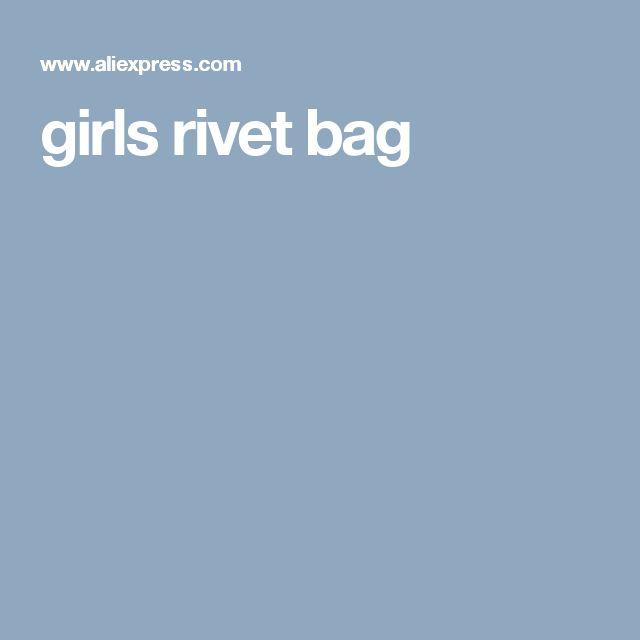 girls rivet bag