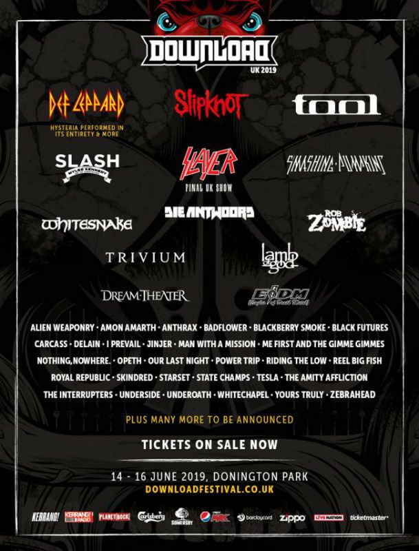 4b998b10 Download Festival 2019 | Metal Festivals in 2019 | Festival names ...