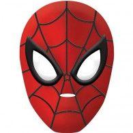 Spiderman Mask Vacuum Formed Plastic $5.95 A251355
