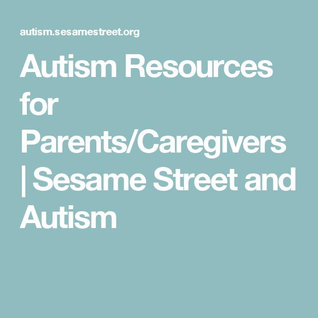 Autism Resources for Parents/Caregivers | Sesame Street and Autism