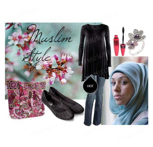 Muslim casual style for April