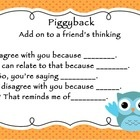 Adorable Owl Accountable Talk posters!! I NEED this!!