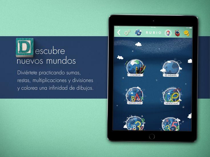 Nueva versión de la app iCuadernos by RUBIO. Disponible en iOs y Android. www.icuadernos.com Ayuda a tus hijos a reforzar su aprendizaje jugando; practicarán sumas, restas, multiplicaciones y divisiones de una forma divertida. En cada cuaderno podrán resolver más de 20 niveles y desbloquear operaciones secretas. Solucionarán problemas de cálculo haciendo fácil lo difícil, ayudándose del bloc de notas. Con el corrector de errores podrán aprender por sí mismos y corregir los ejercicios.