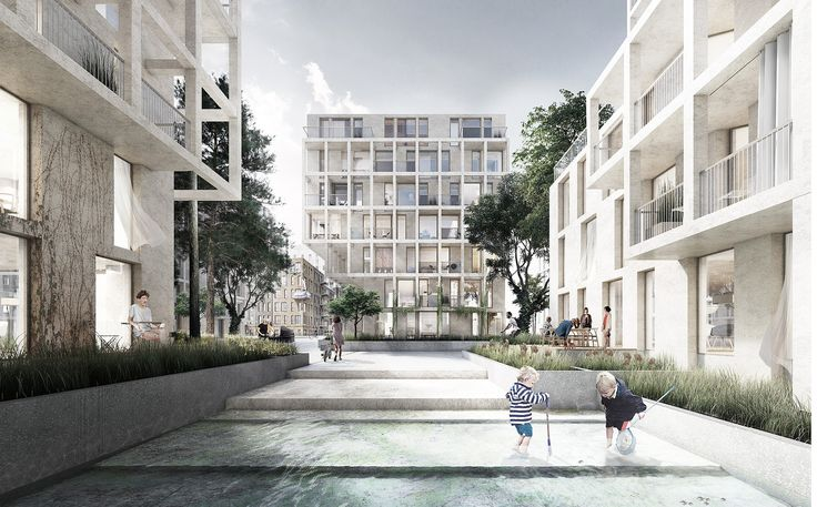Gallery of Tredje Natur, AART Architects and Arup Team Up to Create Copenhagen Island Development - 2