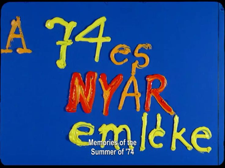 Memory of the summer of '74 (1974) on Vimeo