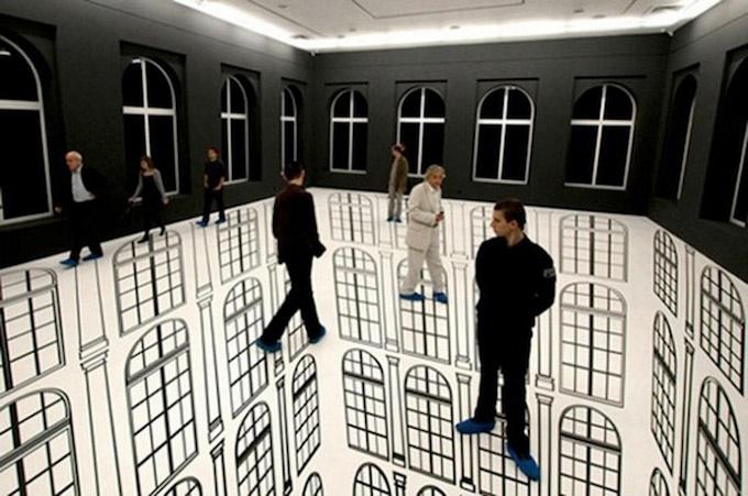 + Entornos 3D de Regina Silveira. Instalaciones creadas por la artista brasilera en donde la ilusión es la protagonista.