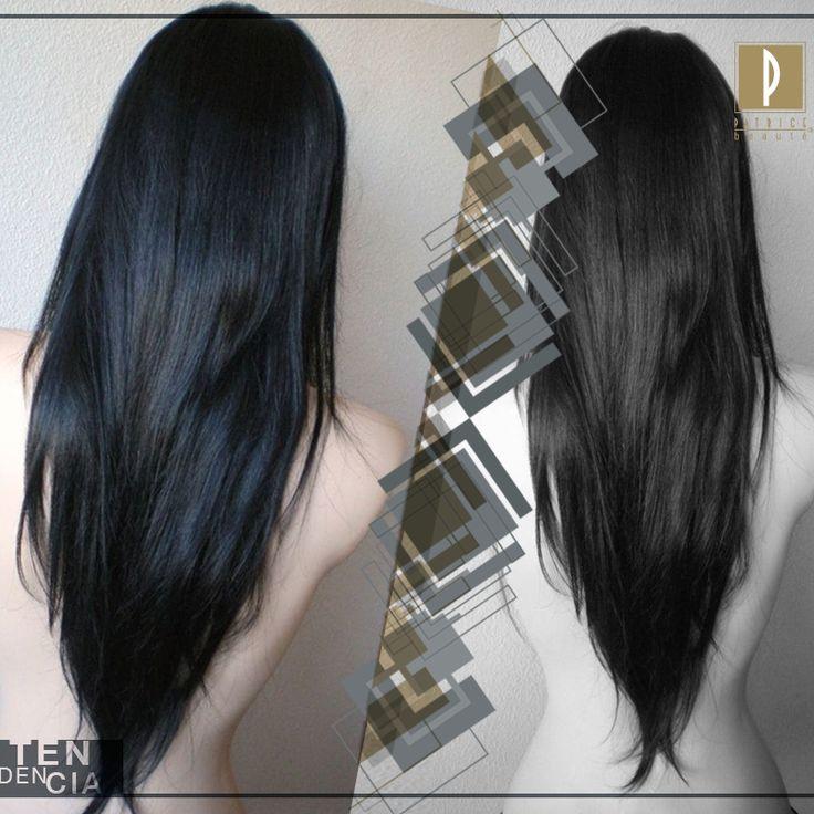 Mantén tu cabello largo y agrega un ligero cambio con un corte en V  #PatriceTrends