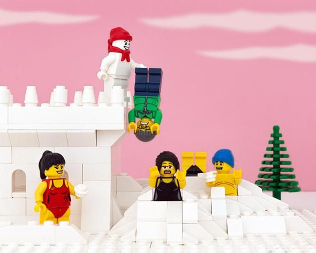 LEGO Canada provinces - Quebec - It really is a distinct society.