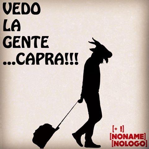 Vedo la gente...capra!!! Vedo la gente...capra!!! #nonamenologo #marketing #webmarketing #neuromarketing #comunicazione #eventi #goat #capra