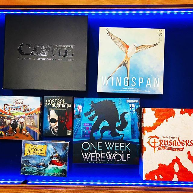 New Games Wednesday Ok So Wingspan Is Getting A Lot Of Our Game Time In Fact I Cant Remember A New Release Which We Have Playe Game Time News Games Play Day