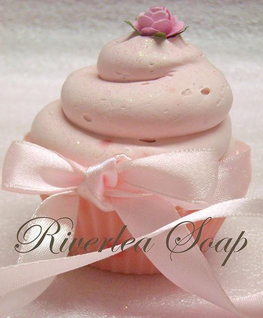 Cupcake Soap by Riverlea Soap
