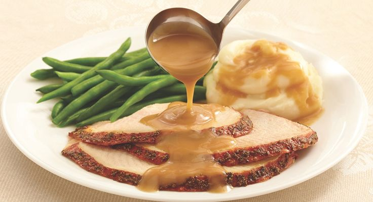 Perfect Turkey Gravy - I have no interest in spending hours trying to make homemade gravy. I love the gravy I get from McCormick's packages.