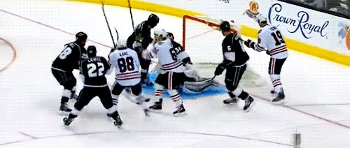 The struggle of trying to celly amongst Kings: A story by Patrick Kane