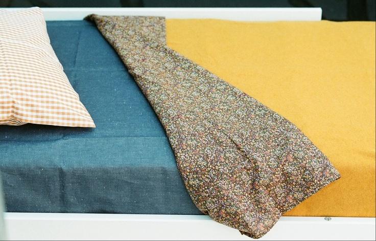 AFFINITA' MODERNE : FLAT SHEETS - TODDLER BEDS, micro flower
