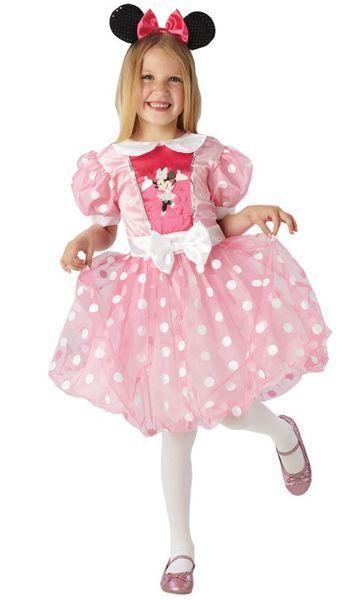 Lisensoitu Walt Disney Minni Hiiri asu. Minni Hiiri on kuvitteellinen hahmo, joka esiintyy Disney-sarjakuvissa ja piirretyissä elokuvissa. Minni on Mikki Hiiren tyttöystävä. Minnin oikea etunimi on Minerva.  Minni on tyttöjen suosikki ja tämä laadukas naamiaisasu on varmasti isojen ja vähän pienempiekin juhlavieraiden suosikki! #naamiaismaailma