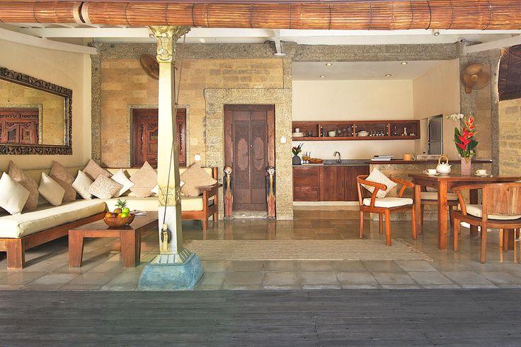 Villa 15 living area at Villa Kubu, Seminyak, Bali