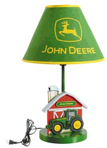 John Deere Childrens Electrical Lamp