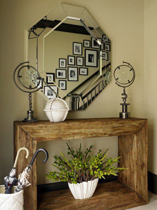 Rustic and modern mix #love #design #simple
