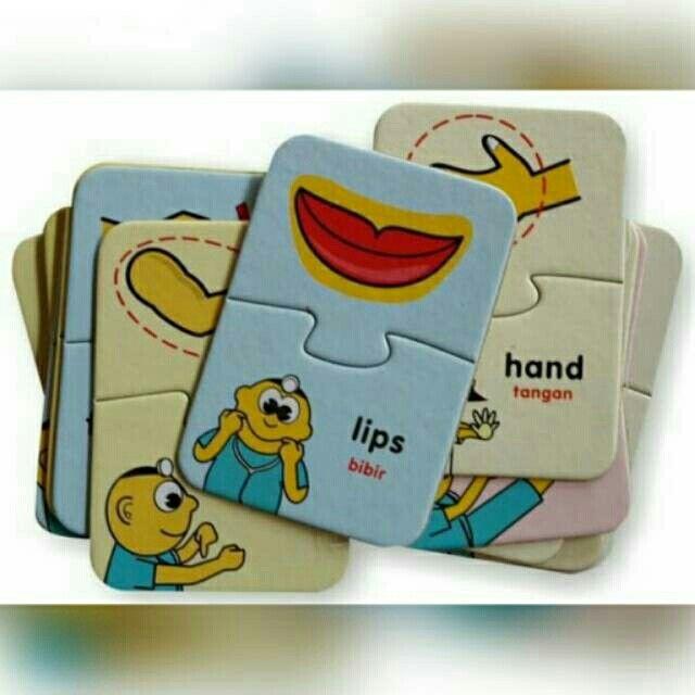 Temukan dan dapatkan FLASH CARD PUZZLE BILINGUAL Our Body hanya Rp 30.000 di Shopee sekarang juga! #ShopeeID