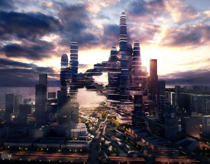 """""""Cloud Citizen"""" ufo Awarded Joint Top Honors in Shenzhen Bay Super City Competition"""