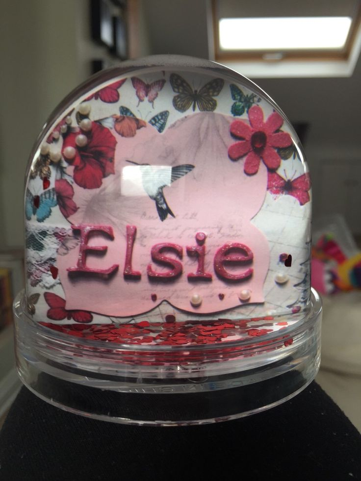 A personal favourite from my Etsy shop https://www.etsy.com/uk/listing/228856335/personalised-snow-globe