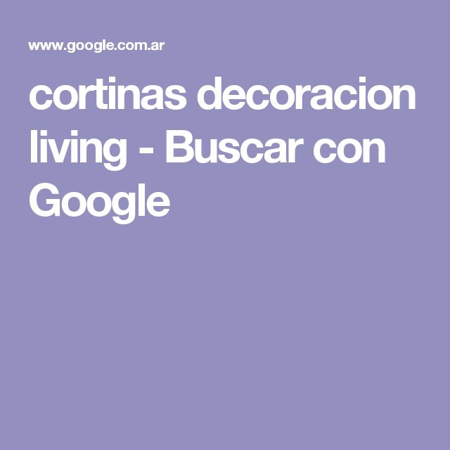 cortinas decoracion living - Buscar con Google
