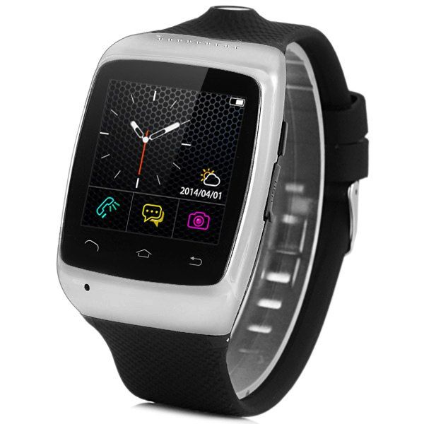 ZGPAX S15 Smart Camera Watch with SMS Dialer Bluetooth Music Remote Notifier Anti-lost Weather Function