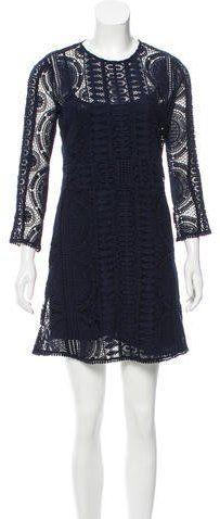 BA&SH Lace Shift Dress