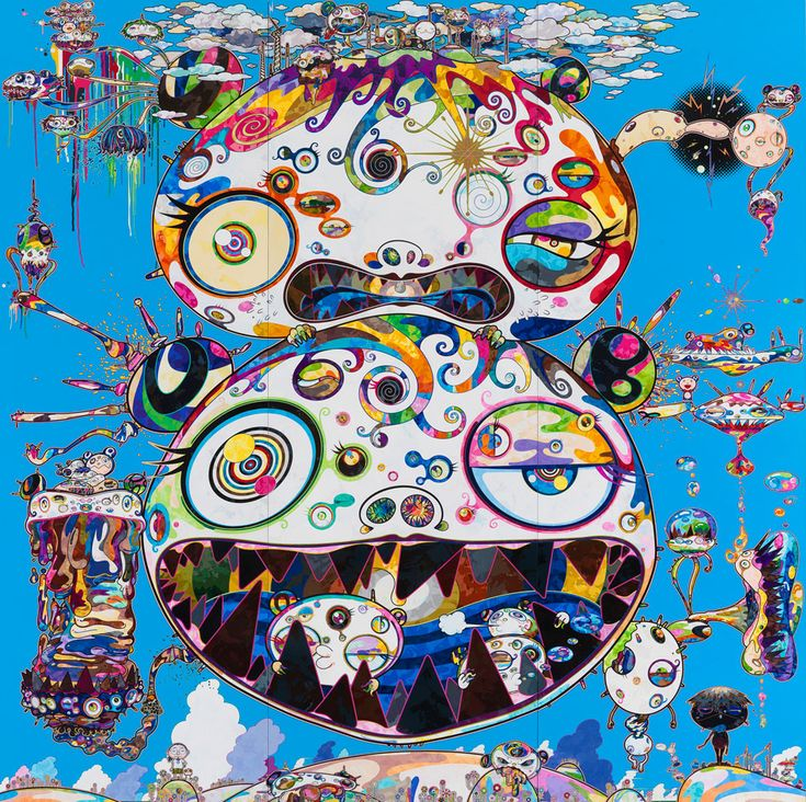 "Takashi Murakami, known for his ""Superflat"" aesthetics, is probably one of Japan's most internationally acclaimed contemporary artists. Known for his hyper, colorful take on pop art and anime culture, his most popular project in the Western world is his collaboration with Kanye West for his third album ""Graduation"" in 2008. However, his latest exhibition ""In the Land of the Dead, Stepping on the Tail of a Rainbow"" at Gagosian Gallery in New York marked a turn to a darker, twisted approach…"