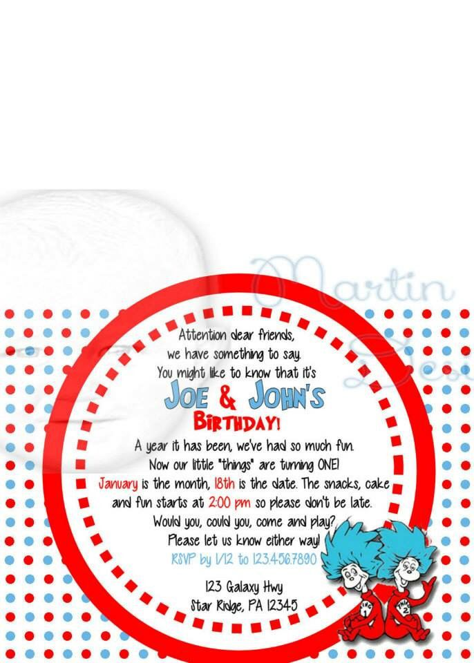 Twin Invitations was adorable invitations example