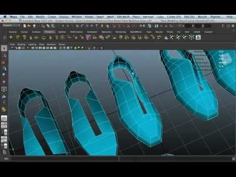 Shoe Modeling - YouTube