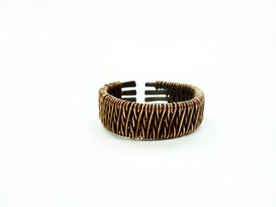 Hey, I found this really awesome Etsy listing at https://www.etsy.com/listing/231650890/ring-for-men-wire-weaving-ring-wire